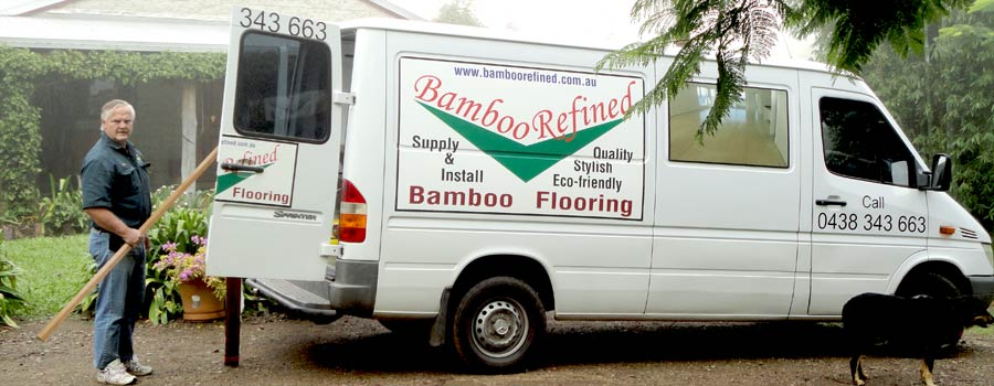 Chris Kath of Bamboo Refined Refined for Bamboo Flooring in the Sunshine Coast and Wide Bay region.